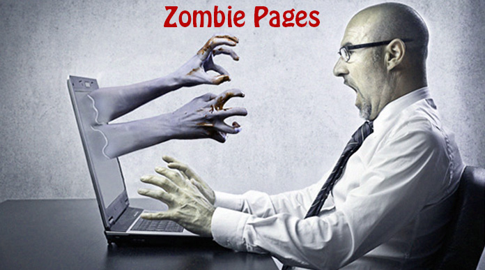 Detecting and dealing with zombie pages