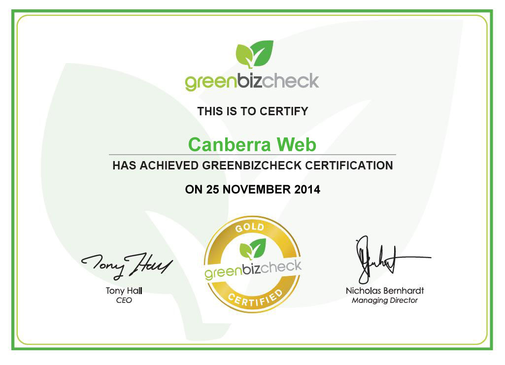 greenbizcheck